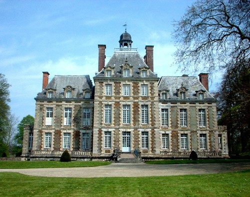 trip to france, chateau de balleroy