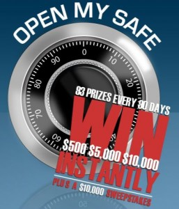 win cash from my open safe