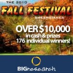 RedPlum and BIGresearch Fall Festival Sweepstakes