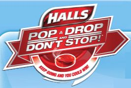 halls pop a drop instant win game