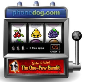 Instant win phonedog facebook sign