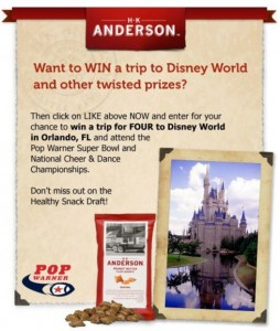 win a trip to national cheer championship competition disney world