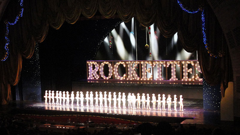Rockettes Radio City Music Hall New York City Christmas 2010