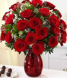 red envelope pro flowers red roses