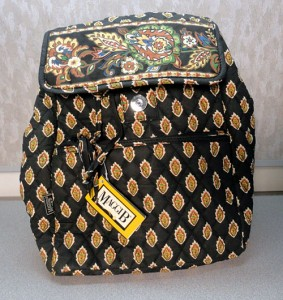 win a maggib vera bradley style backpack