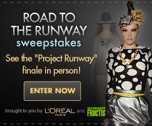 project runway sweepstakes