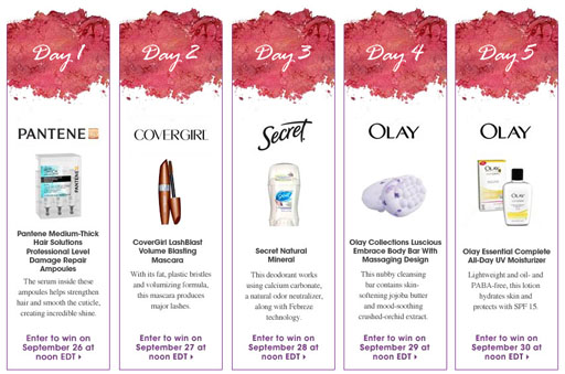 allue free beauty products giveaway september