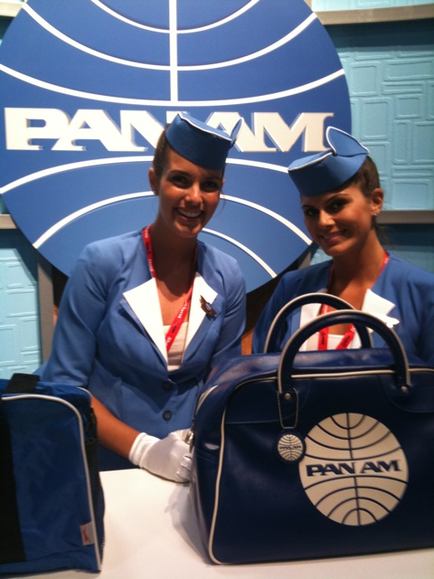 pan am tv show flight attendant bag