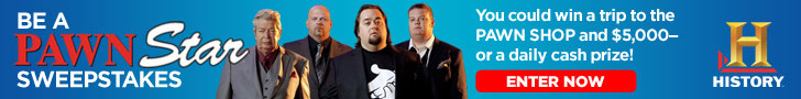 pawn star sweepstakes