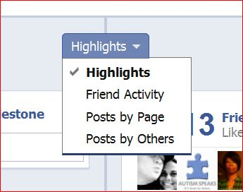 enable Post by Page on the Facebook Timeline