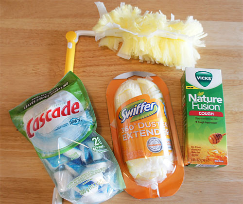 Win Cascade Swiffer and Vicks products