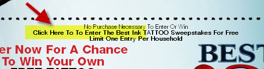 how to enter the best tattoo sweepstakes without purchase