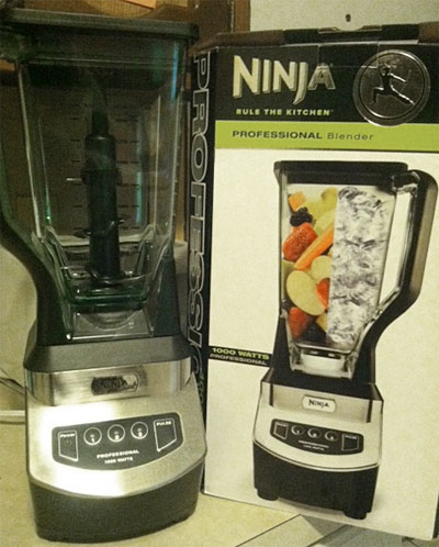 ninja blender, women's world magazine sweepstakes