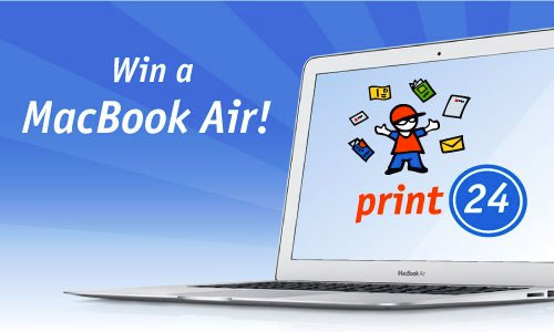 win macbook air from print24