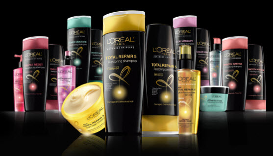 Free L'Oreal Hair Care Sample