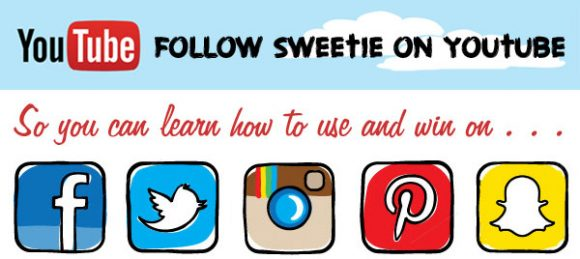 Subscribe to Sweeties Sweeps YouTube Channel