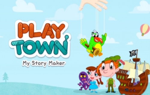 Free Play Town My Story Maker App for Kids