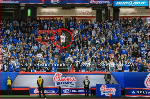 Chick-fil-A Bowl Sweepstakes Cow Locations