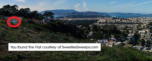 San Francisco Sweepstakes Fiat Location