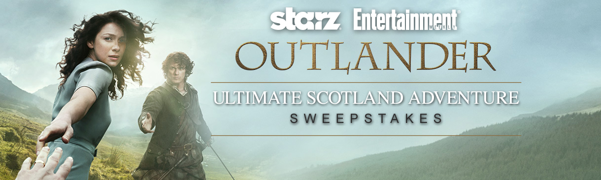 Starz Outlander sweepstakes weekly codes