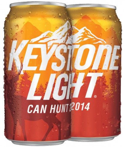 Keystone Orange can