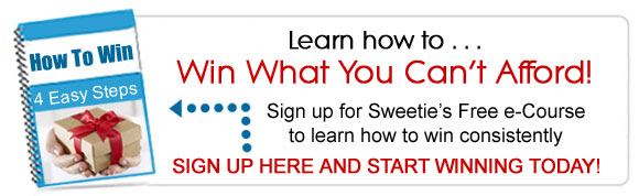 Sweeping 101: Win What You Can't Afford - sign up for FREE!