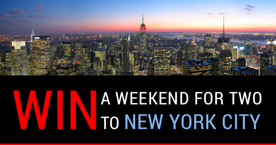Enter for your chance to win an Art Immersion, Andy Warhol weekend for two to New York City from @1000Museums