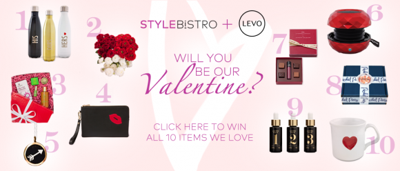 StyleBistro and Levo League $1000 Valentine's Day Giveaway