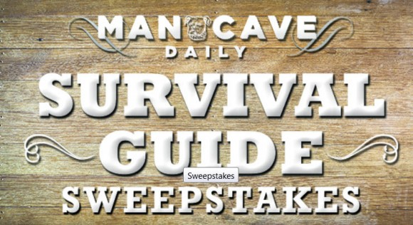 Mancave Survival Guide Sweepstake