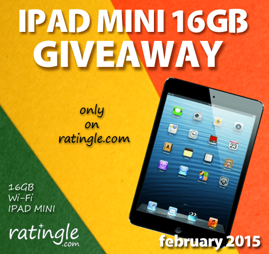 Ratingle.com Apple Ipad Mini Giveaway