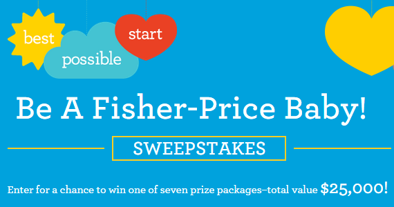 Be A Fisher-Price Baby $25,000 Sweepstakes #fpbabysweeps