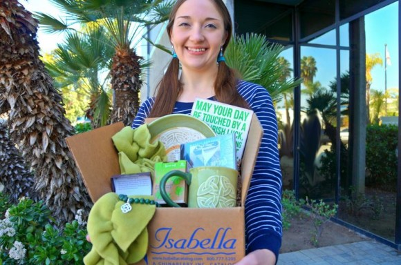 Isabella Saint Patricks Day Chinaberry giveaway