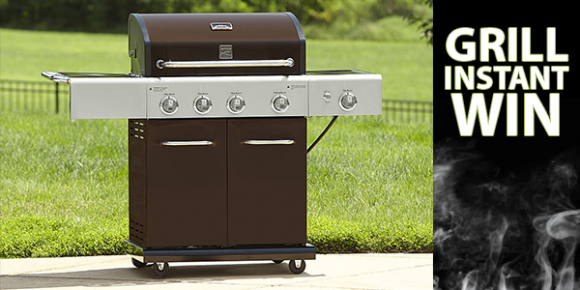 Shop Your Way Grill & Points Instant Win Game