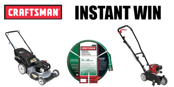 Shop Your Way Craftsman Green Grass Instant Win Game