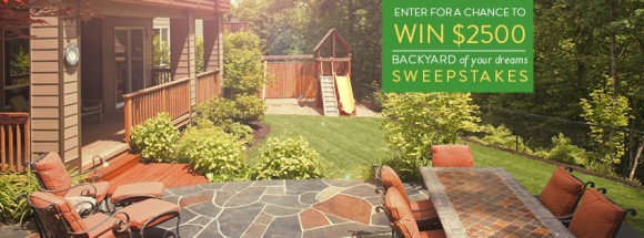 Better Homes and Gardens Real Estate Backyard of Your Dreams Sweepstakes