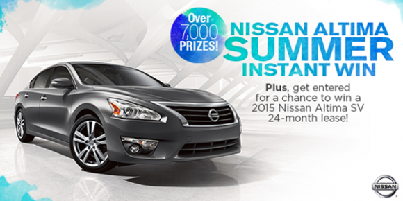 Shop Your Way Nissan Altima Summer Instant Win Game