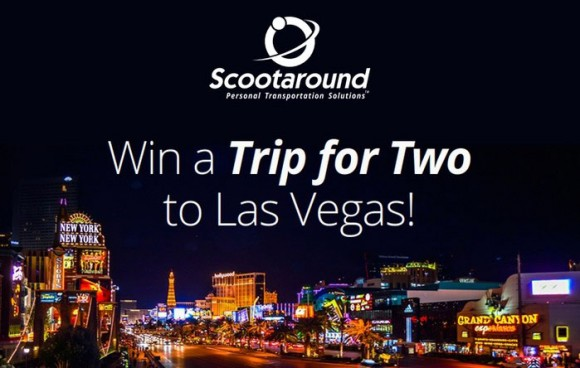 Scootaround Escape to Vegas Sweepstakes
