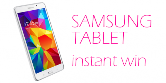 Shop Your Way Samsung Tablet Instant Win Game