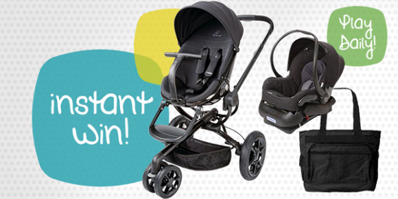 Shop Your Way Quinny Stroller Instant Win Game