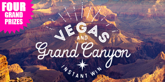 Shop Your Way Vegas and Grand Canyon Instant Win Game