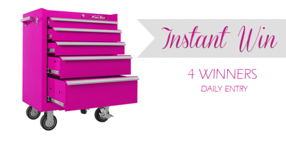Shop Your Way Pink Tool Box Instant Win Game
