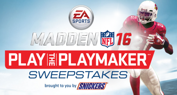 Maddan NFL 16 Play the Playmaker Sweepstakes