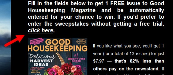 Good Housekeeping PAN: Discover Neverland Sweepstakes