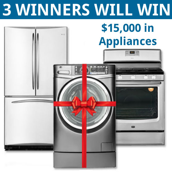 american home shield you pick three fall 15 000 appliance giveaway