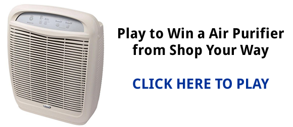 Shop Your Way Air Purifier Instant Win Game