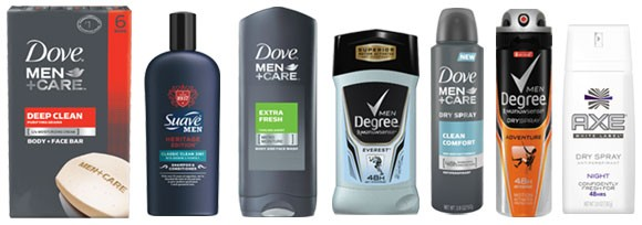 Unilever Men's Care Products