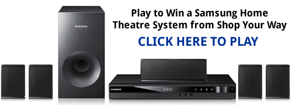 Shop Your Way Samsung Home Theatre Instant Win Game