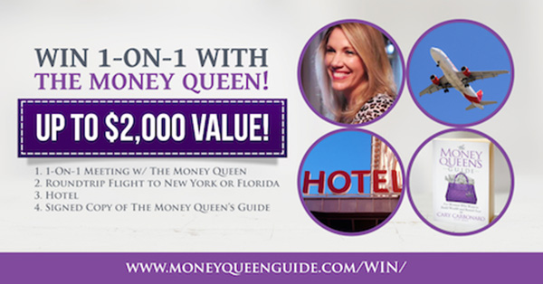 Win an Exclusive 1-on-1 Getaway With The Money Queen