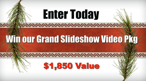 Slideshow Memories $1,850 Holiday Giveaway