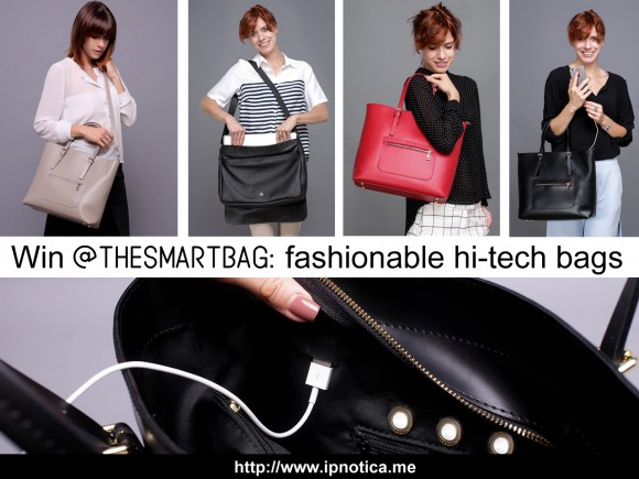 Ipnotica The Smartbag Hi-Tech Handbag Giveaway